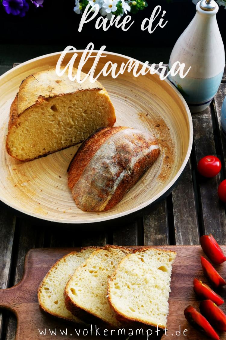 Pintererst -Pane di Altamura - italienisches Hartweizen Brot