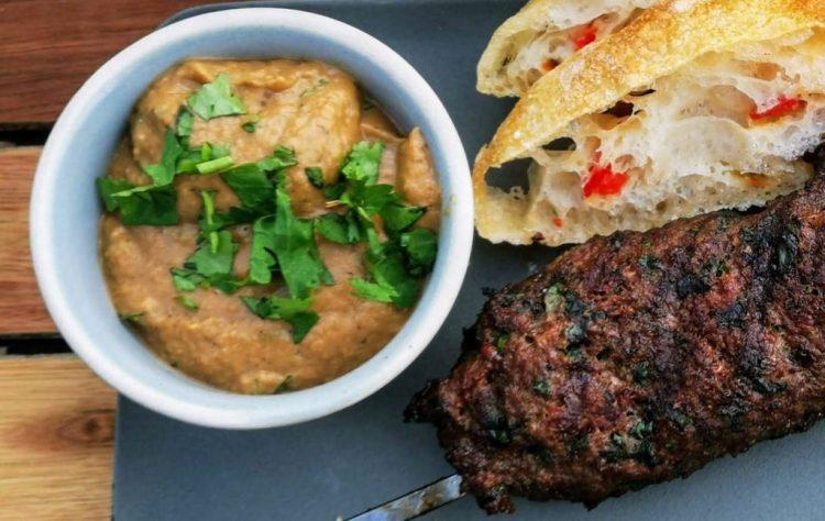 Baba Ghanousch - Auberginenpaste aus der Levanteküche