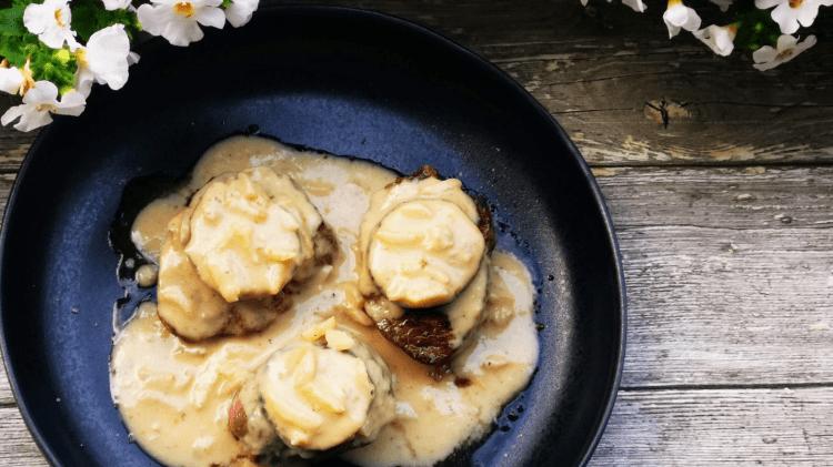 Filet Medaillons mit Feigen-Gorgonzola Soße-header