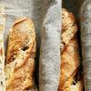 Walnuss-Baguettes mit Pâte fermentée