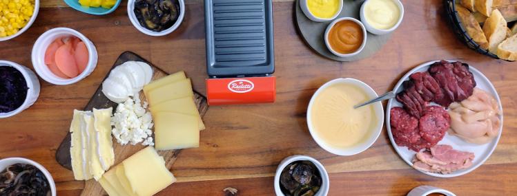 Raclette - einkaufen und vorbereiten - Mengen, Tipps und Tricks für den Silvester Abend