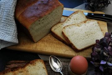 Leckeres Toastbrot - Rezept mit wenig Hefe