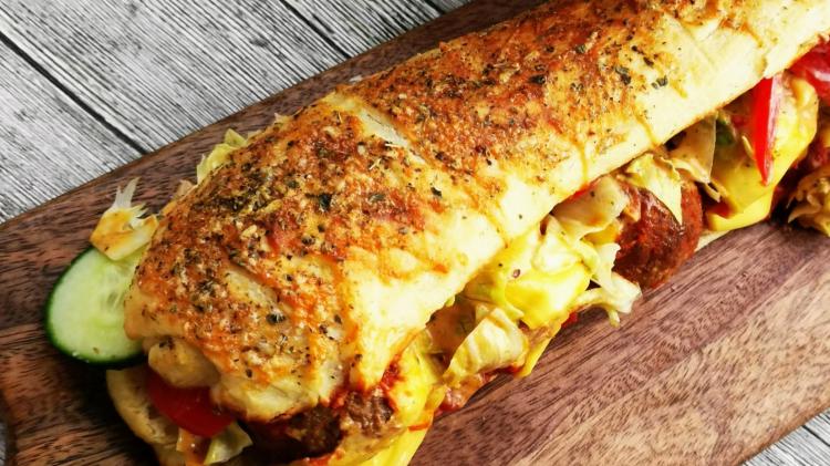 Meatball Subs - Rezept für Subway Sandwiches mit Hackbällchen