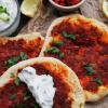 Mini-Lahmacun - türkische Pizza mit Hack oder vegan