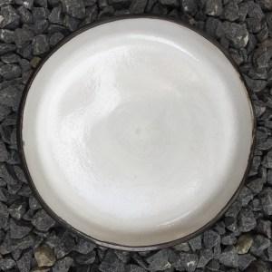 Shirokuro plate large gravel volkiln