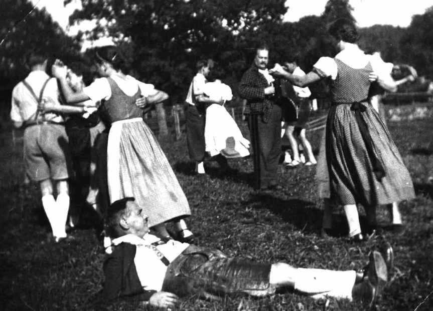Gstanzlmelodie – Buama stehts z'sam in Kroas
