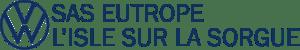 Logo garage volkswagen l'isle sur la sorgue eutrope