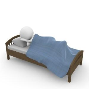 Die Bewegung und der gesunde Schlaf