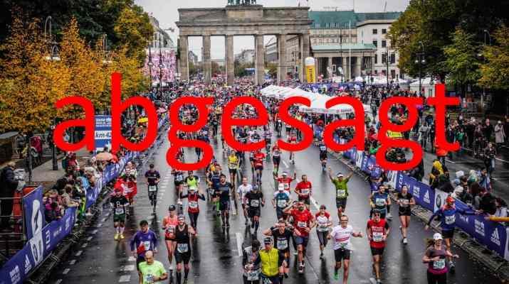 berlin marathon abgesagt