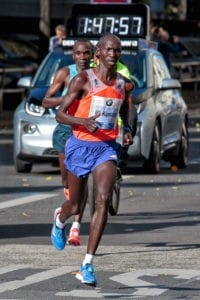 Wilson Kipsang beim Berlin Marathon