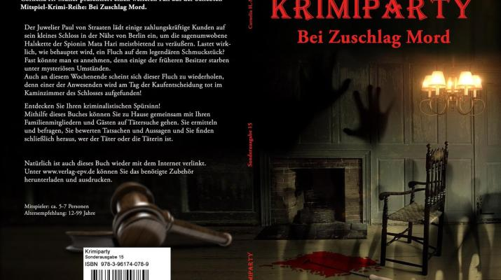 Krimiparty Band 15 Bei Zuschlag Mord