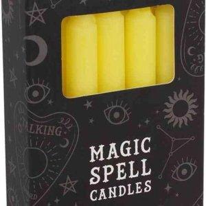 Magic Spell kaarsen geel