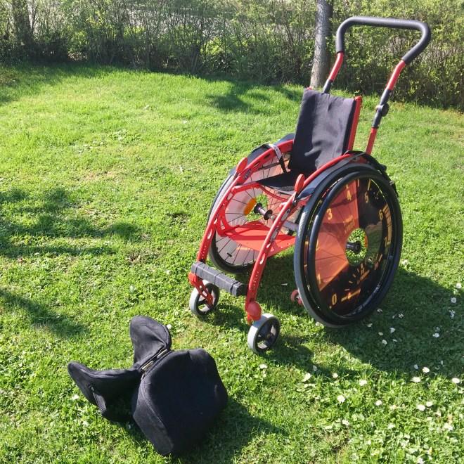 Carstens alter Rollstuhl wird reaktiviert