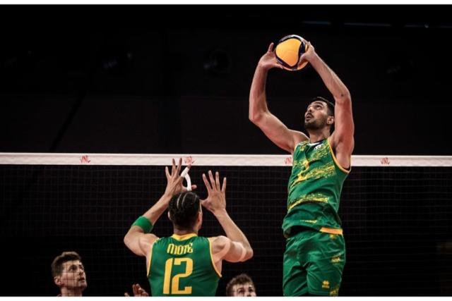 A difficult game against Poland for the Volleyroos