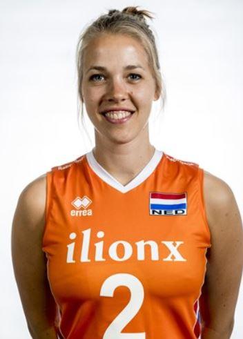 ネーションズリーグ女子オランダバレー代表かわいいメンバー!背番号と画像写真も