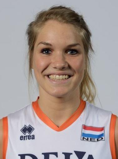 ネーションズリーグ女子オランダバレー代表かわいいメンバー!背番号と ...