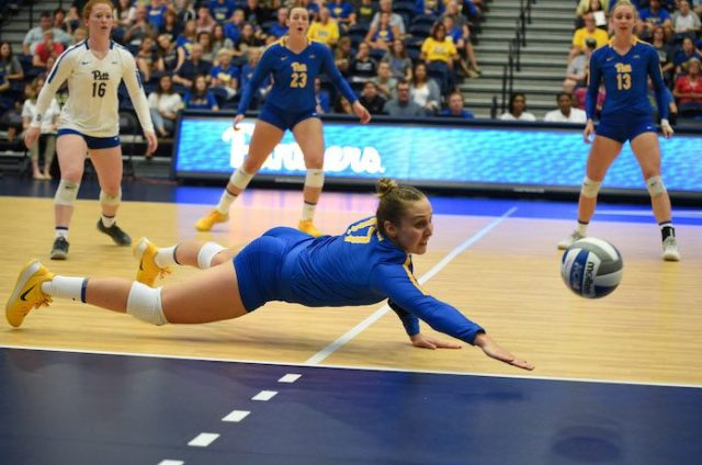 NCAA volleyball 9/3/2019-Nika Markovic