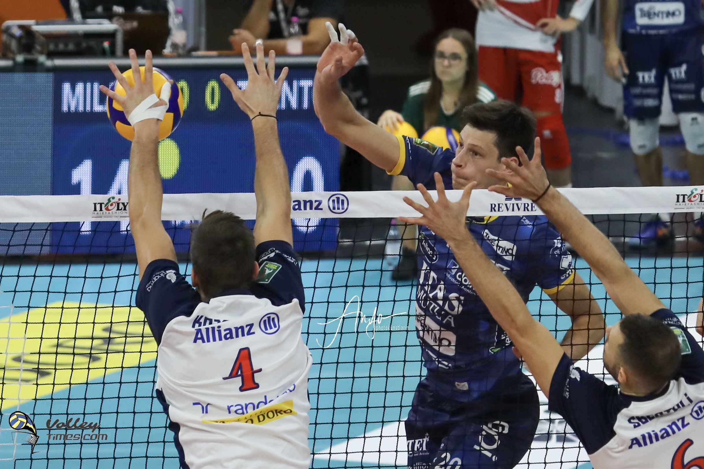 Italy: Lube Civitanova trample over Modena in big match of Round 6, veteran Alessandro Fei sets a new SuperLega record!