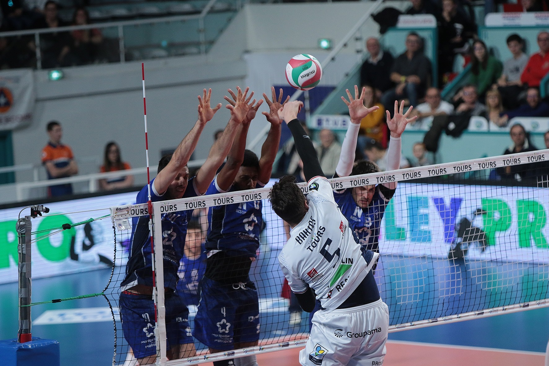 France: Tours record fifth victory in a row and replace Montpellier at vice-leaders position