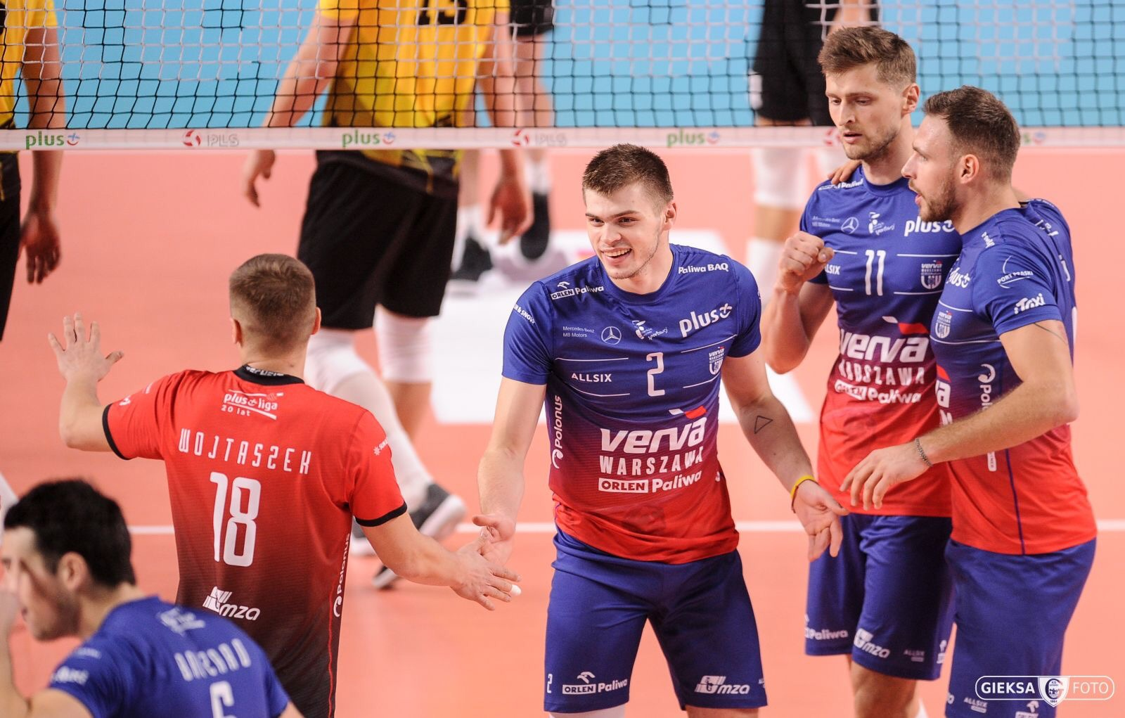 Poland: Warszawa drop one point against Katowice, ZAKSA break resistance of Trefl after intense battle