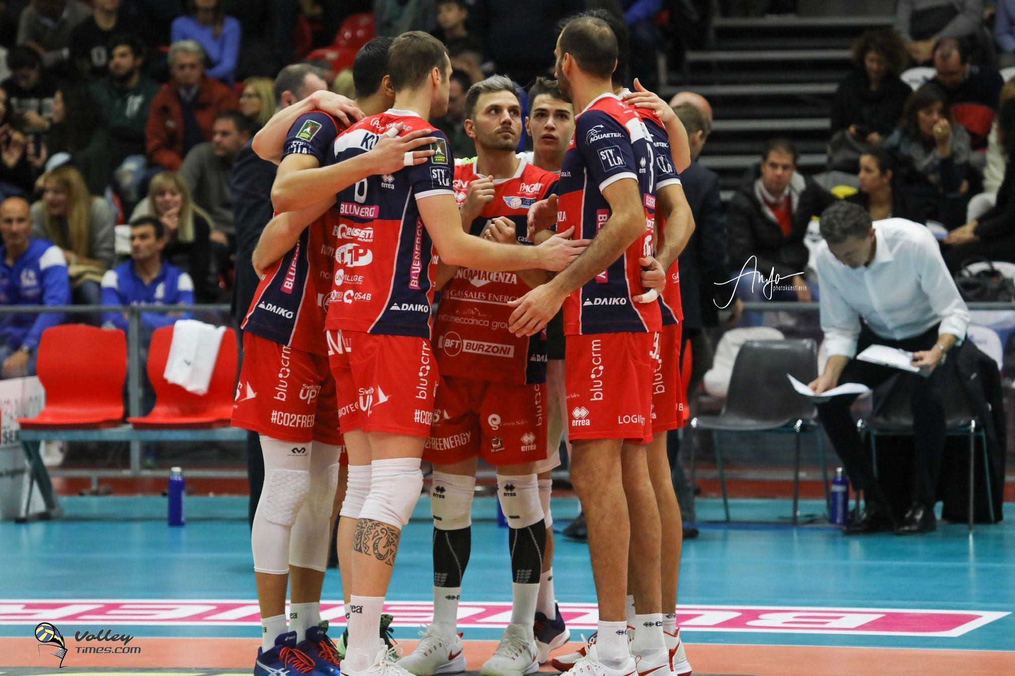Italy: Fifth win at tie break for Piacenza in the advance of Round 12