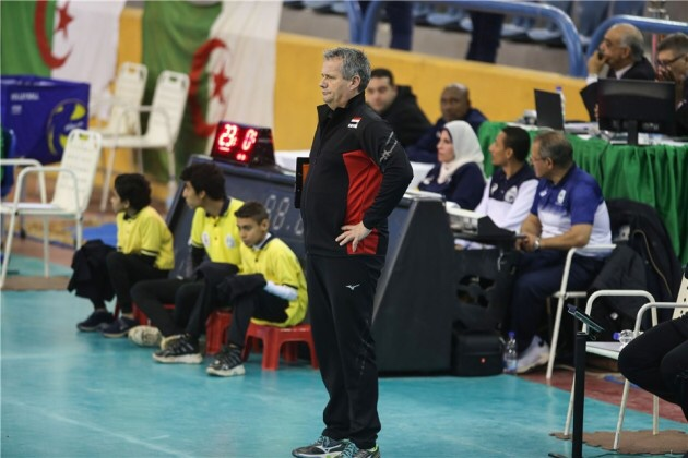 Vermeulen no longer head coach of Egypt National Team