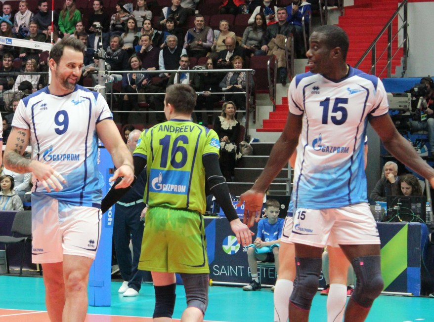 Cev Cup: Zenit St. Petersburg is the first semifinalists - VOLLEY ...