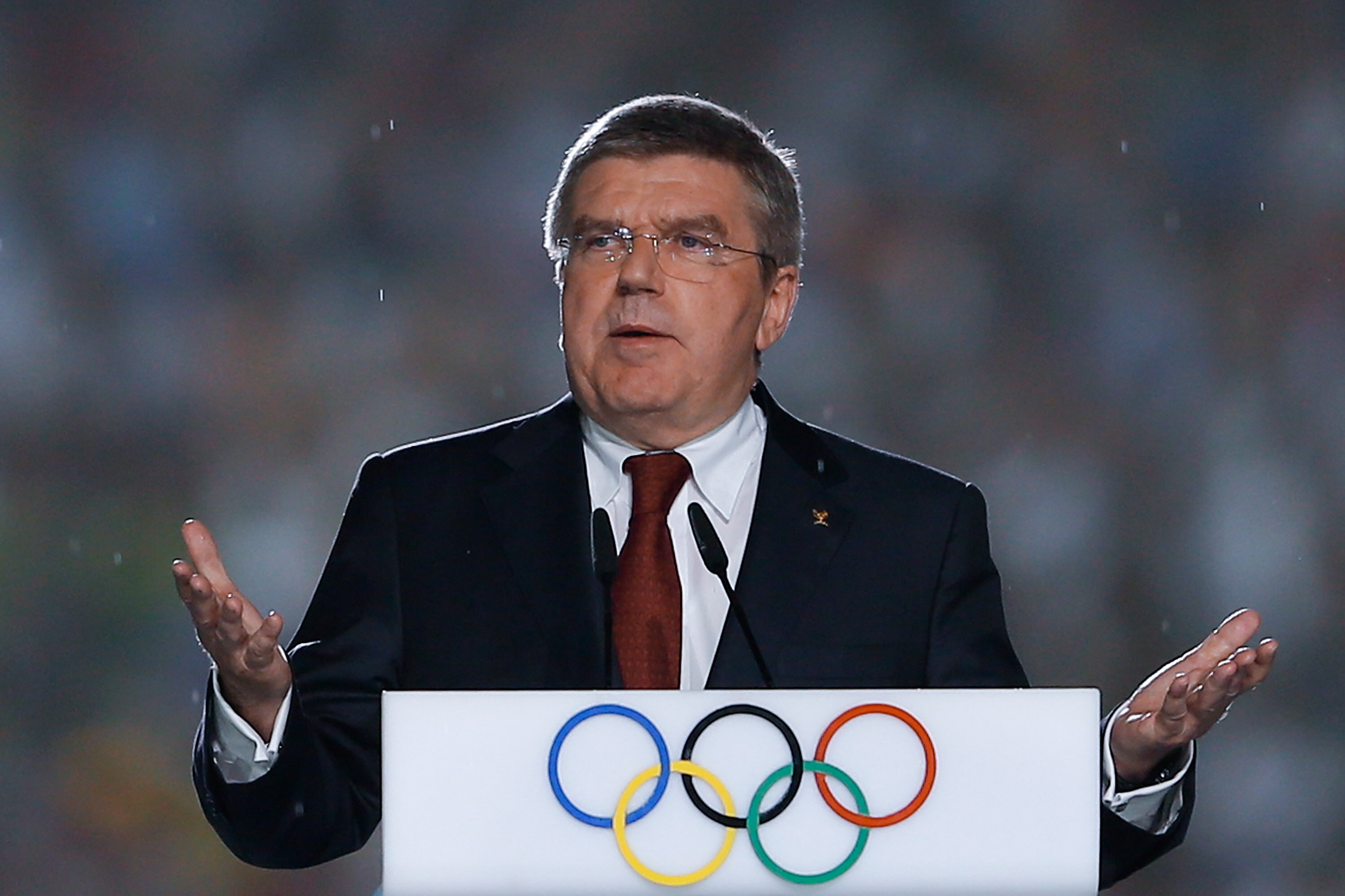 IOC President Bach says organizing Tokyo Olympics not restricted just to summer of 2021
