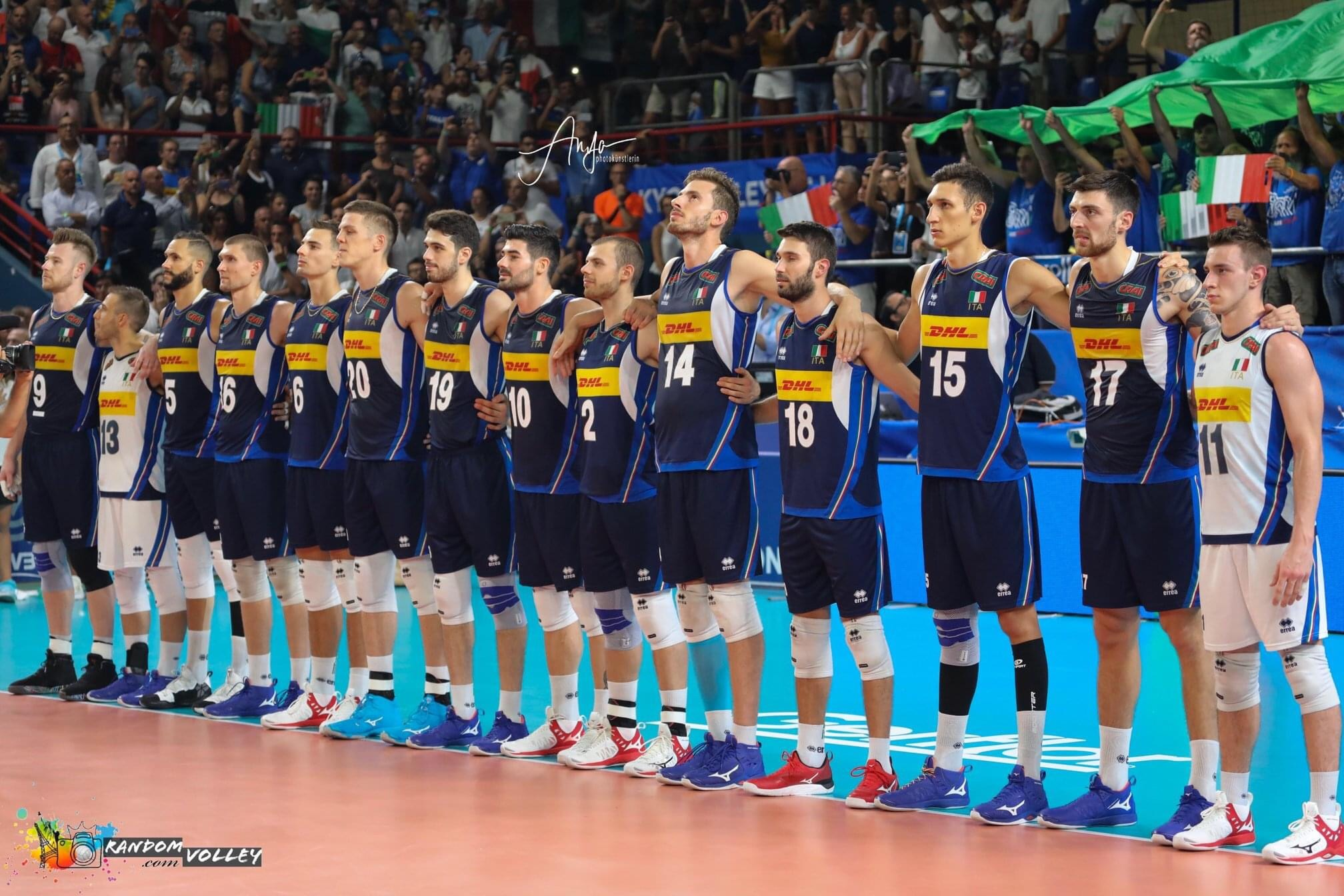 For the first time in history, Italy won't participate in VNL