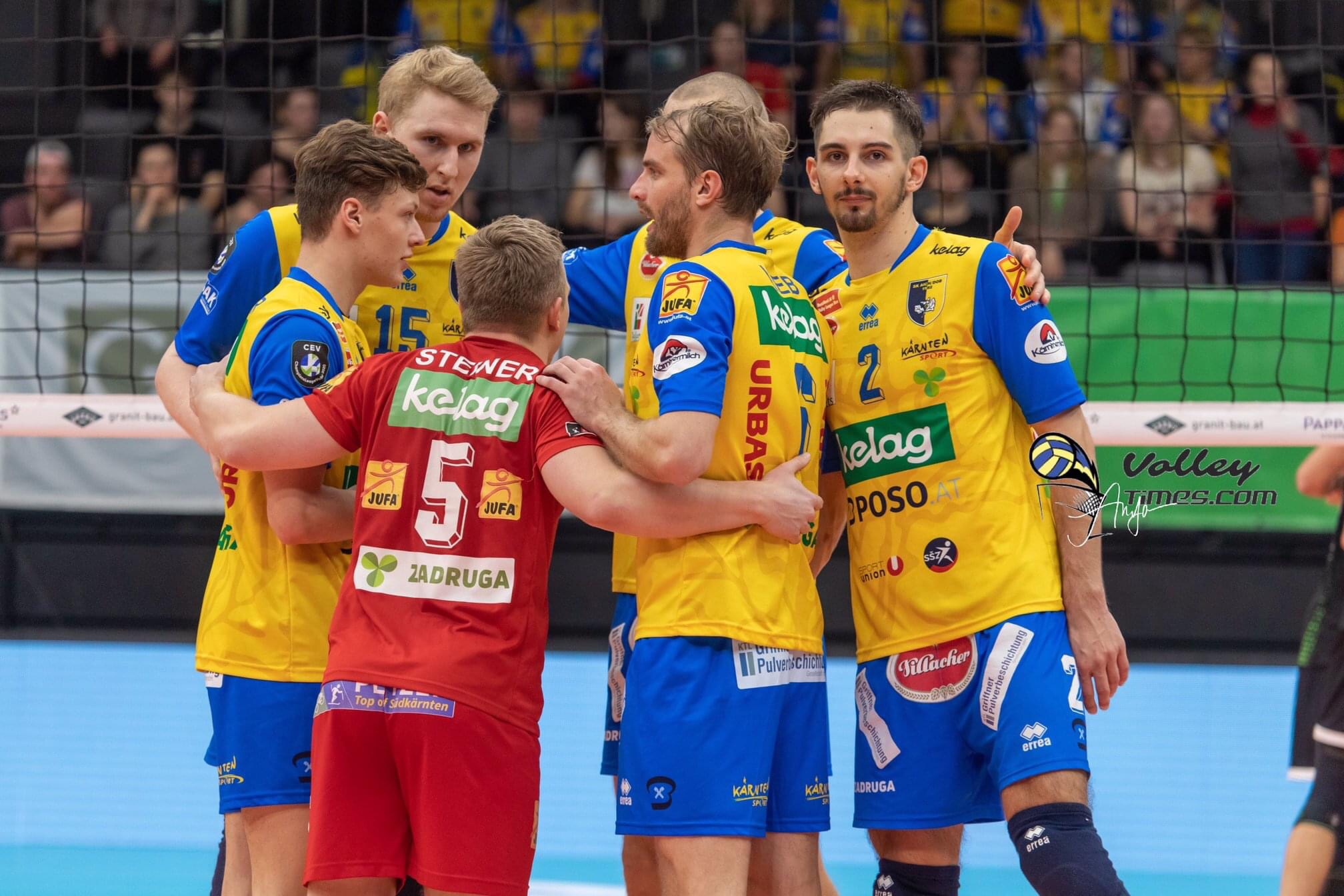 Austria: No DenizBank AG Volley League champions – the final standings.