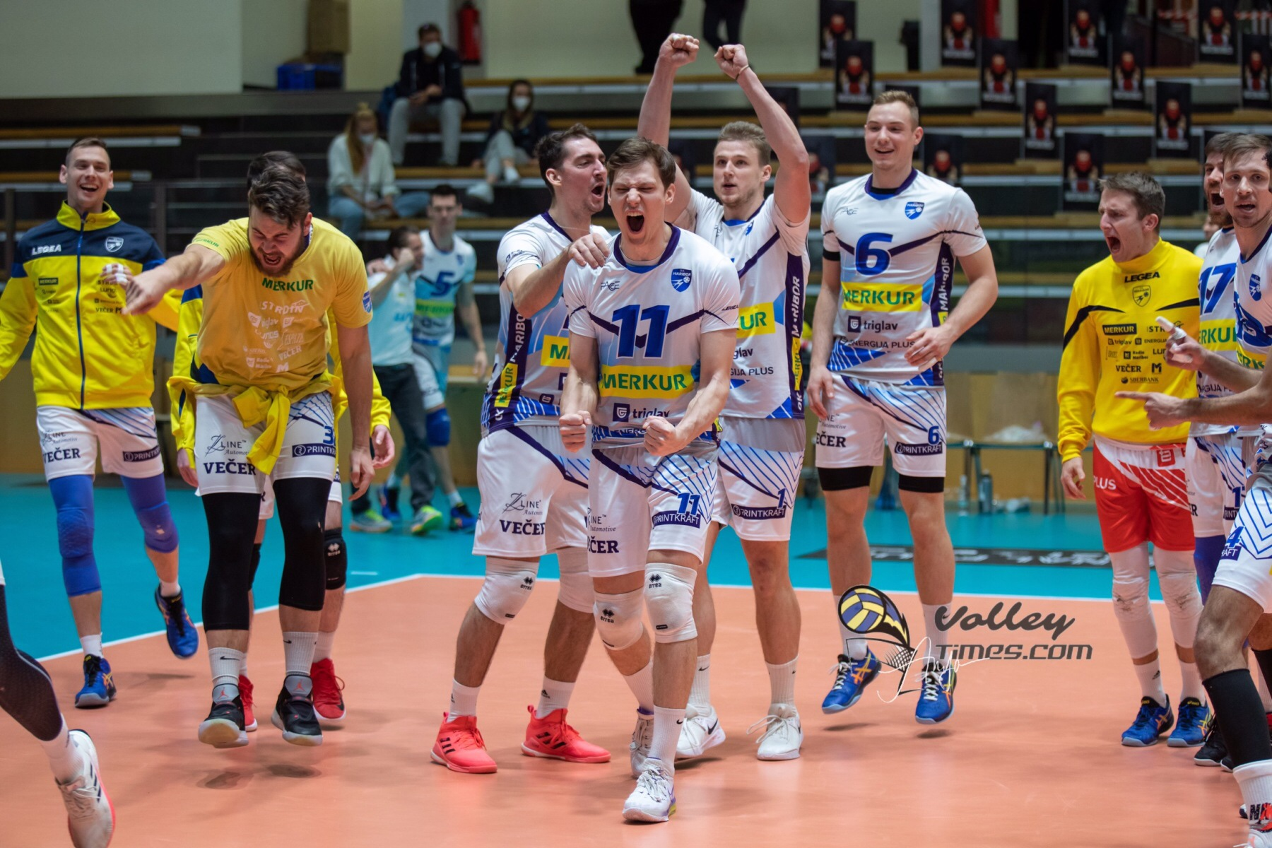 Mevza League: final is OK Merkur Maribor – ACH volley Ljubljana!