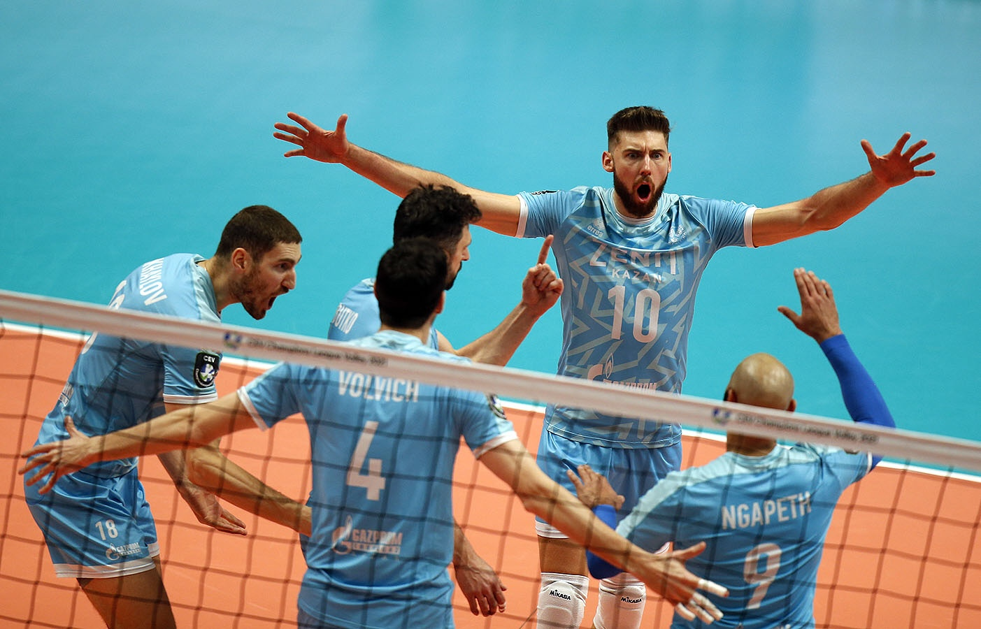 Champions League: Kazan and Trentino complete the semifinal bracket!