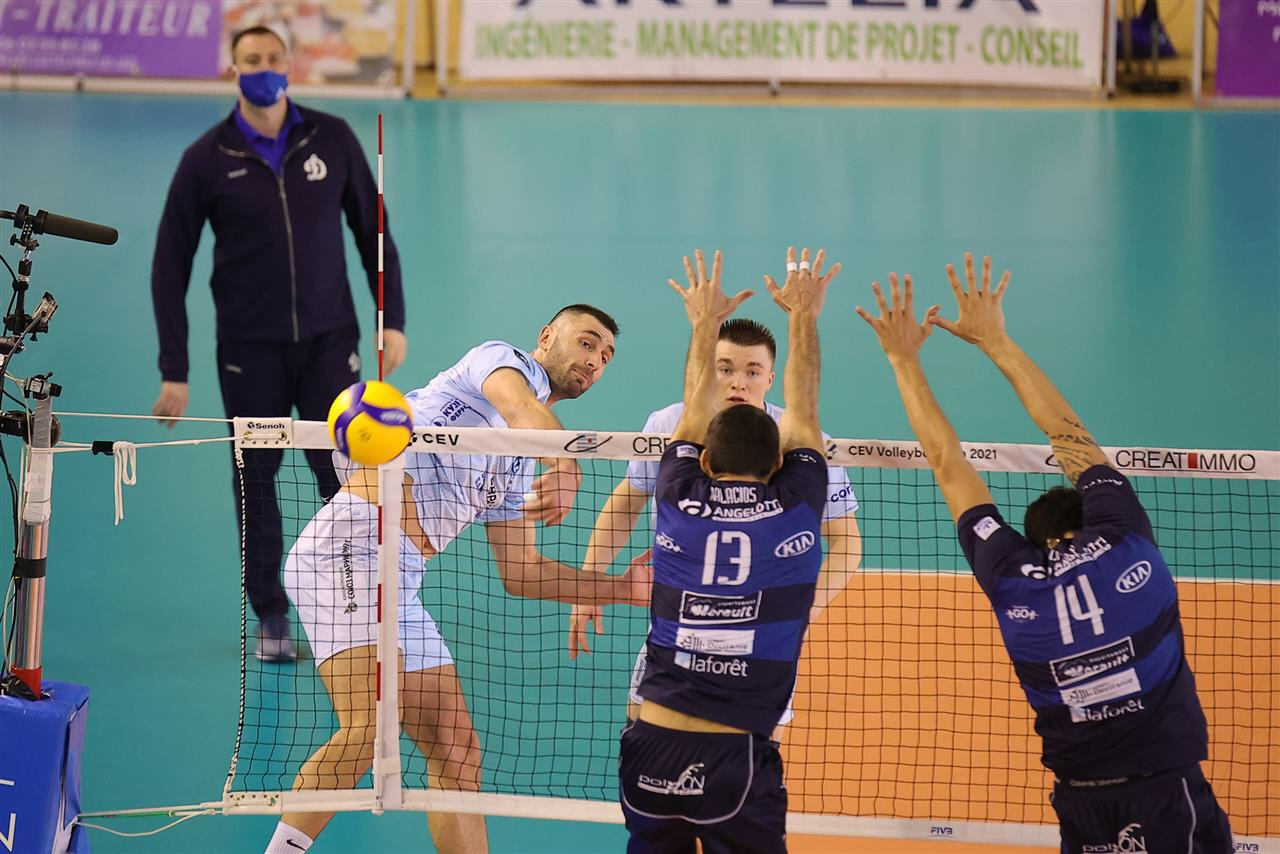 CEV Cup: Dinamo Moscow down Montpellier and the trophy will go to Russia!