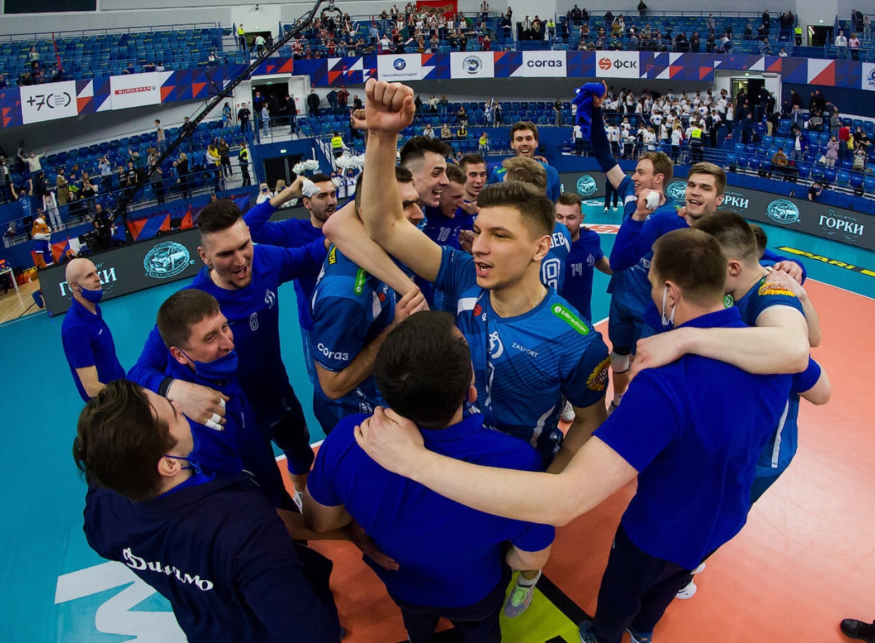 Russia: Dinamo Moscow win championship title after 13 years. Third place for Lokomotiv