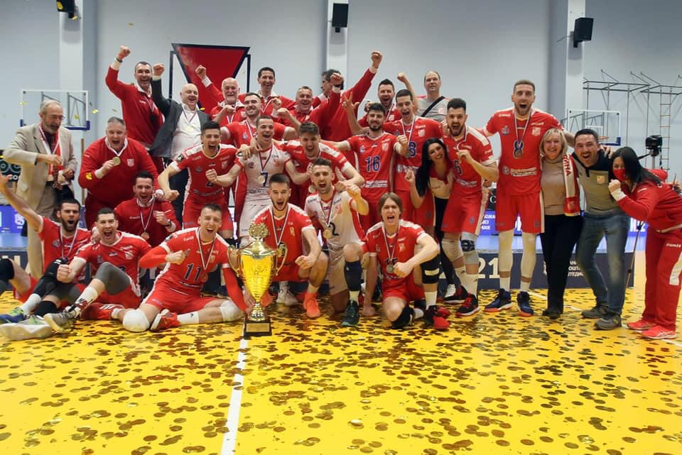 Serbia: Vojvodina Novi Sad crowned as champions for 5th time in row