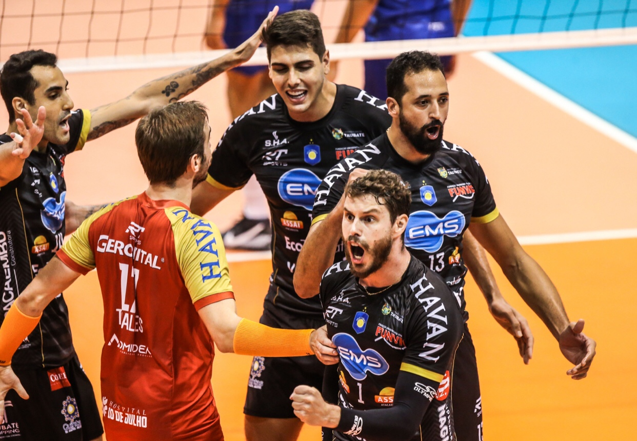 Brazil: second title for Funvic Taubaté. Minas defeated 3-0 in Game 2
