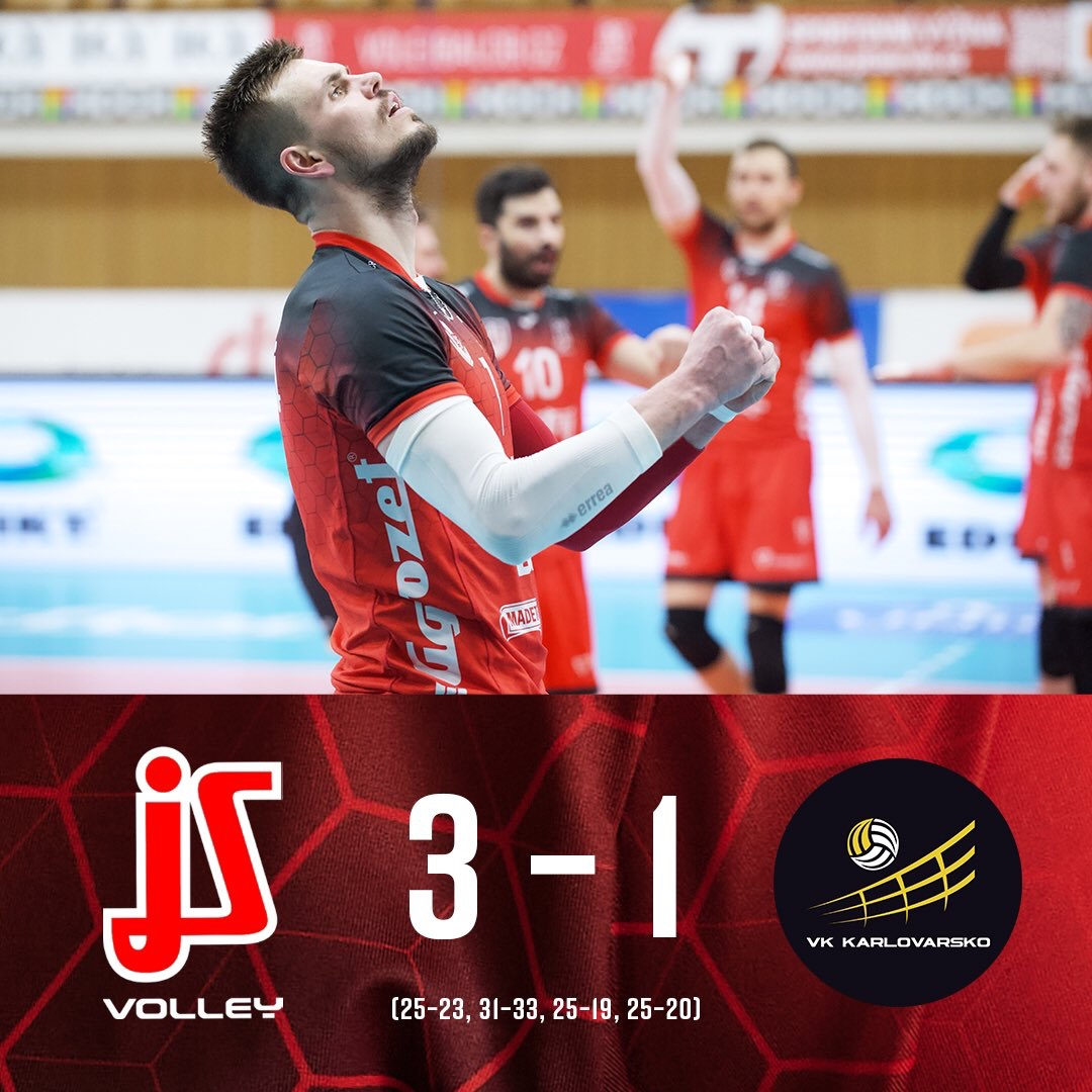 Czech Republic: Final serie between Karlovarsko and České Budějovice to game 5!