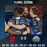 Italy: A super León puts down 38 and Perugia tie final series against Lube! Semifinals for 5th place defined.