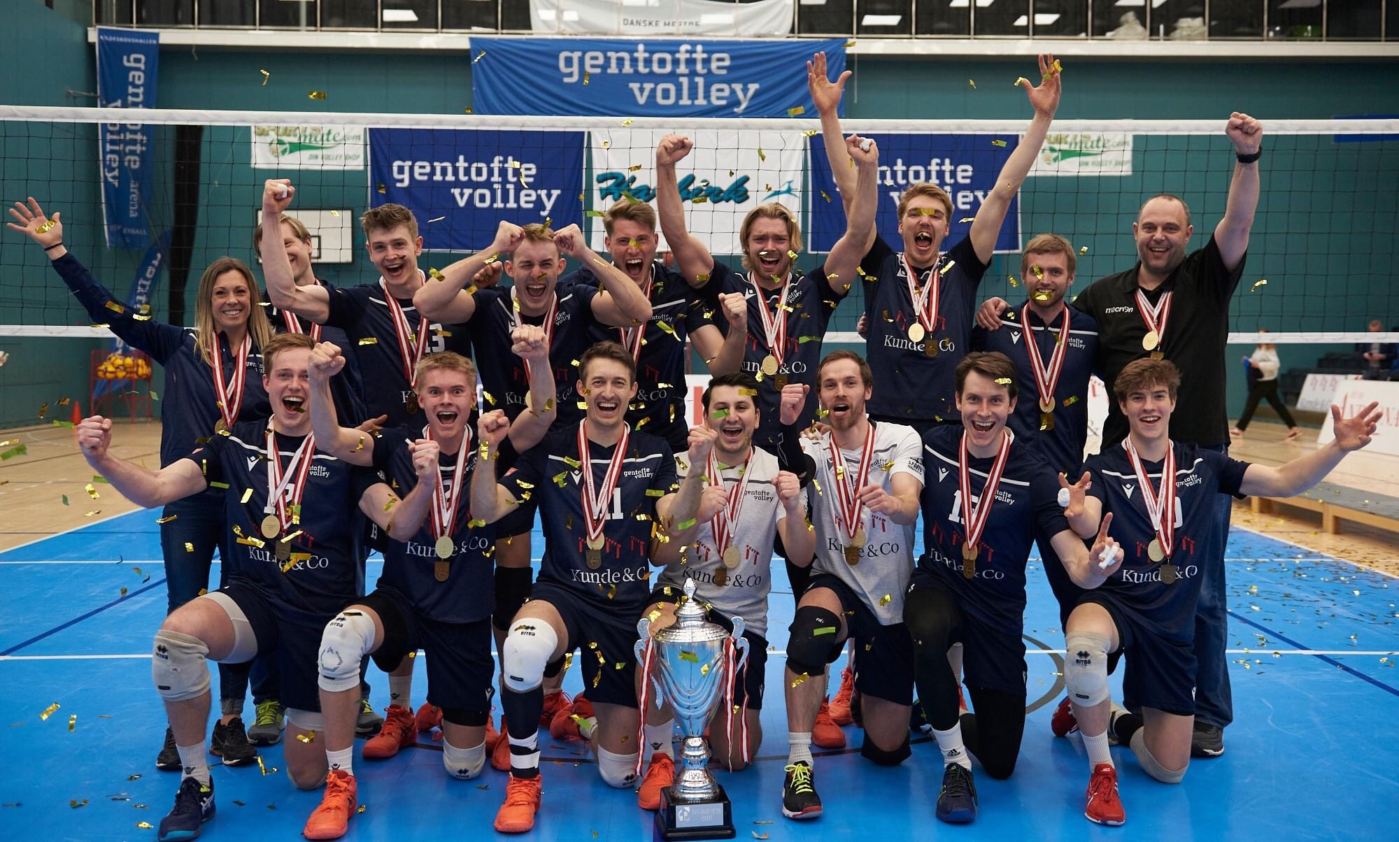 Denmark: Gentofte complete decade of championship finals by winning 4th title in row