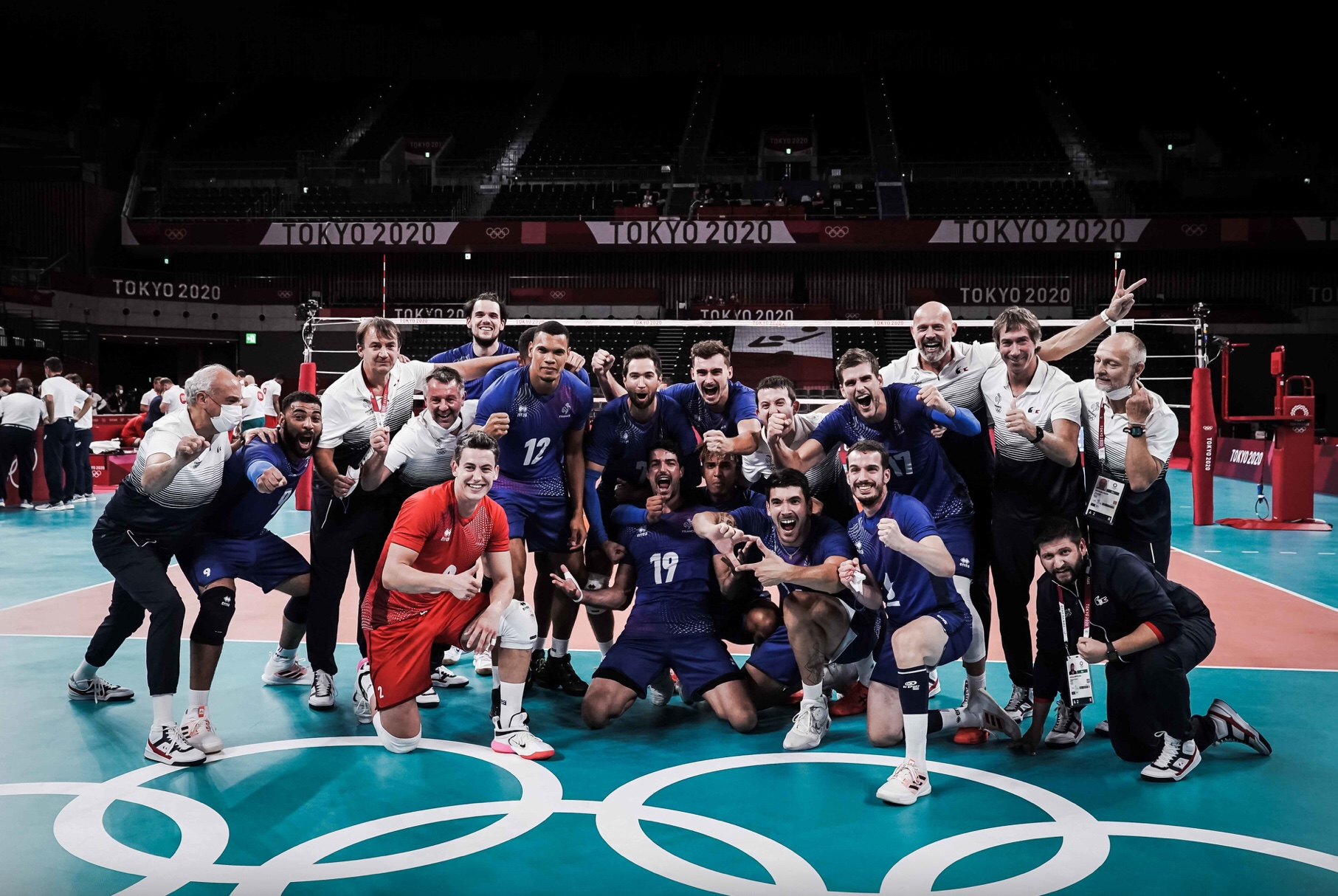 Tokyo 2020: France sends home world champion Poland and books a historic ticket to semifinals!