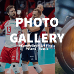 Eurovolley 2021: Photogallery of Poland – Russia