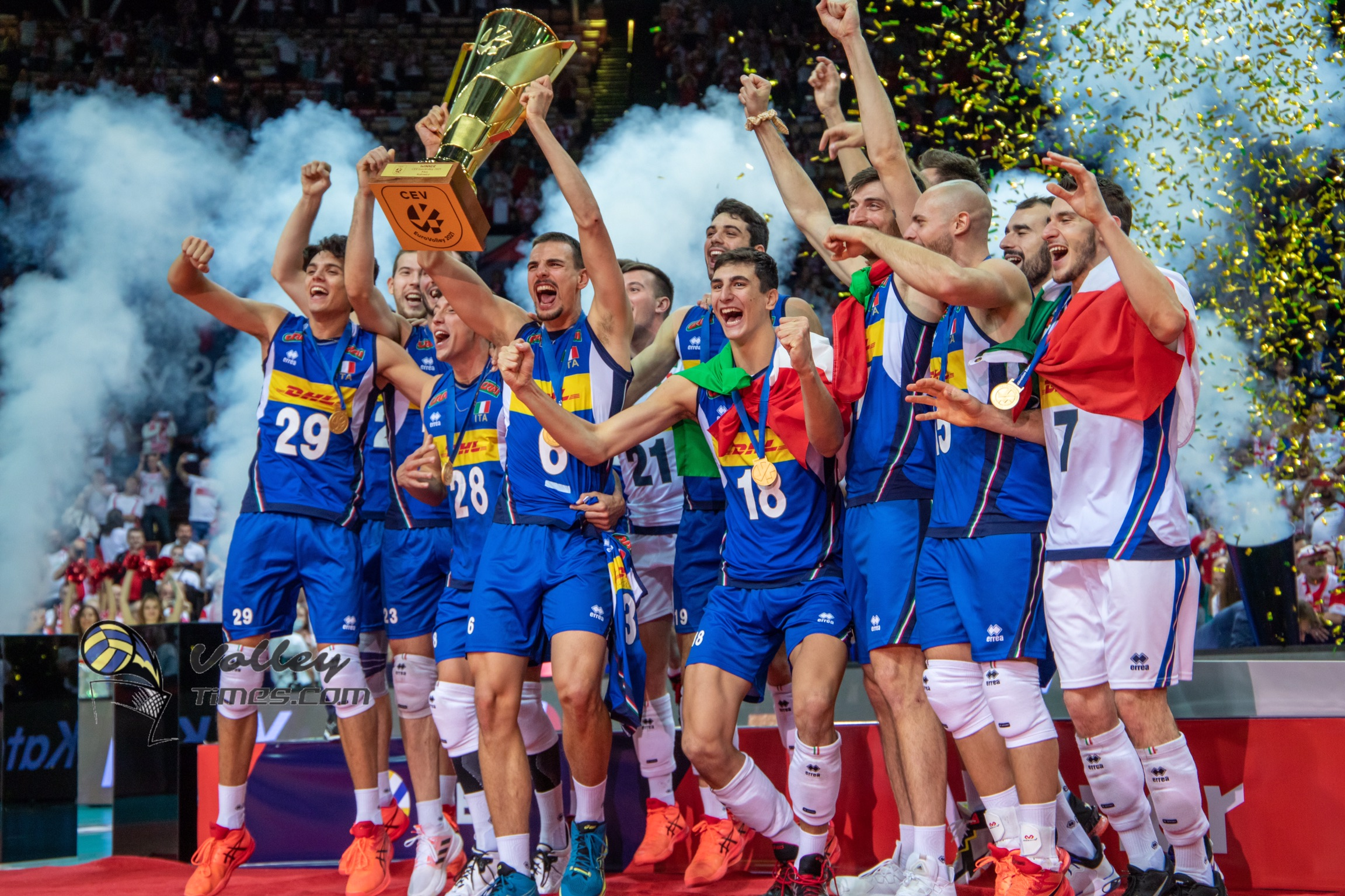Eurovolley 2021: Magic of young Italy continues – on top of Europe again after 16 years!