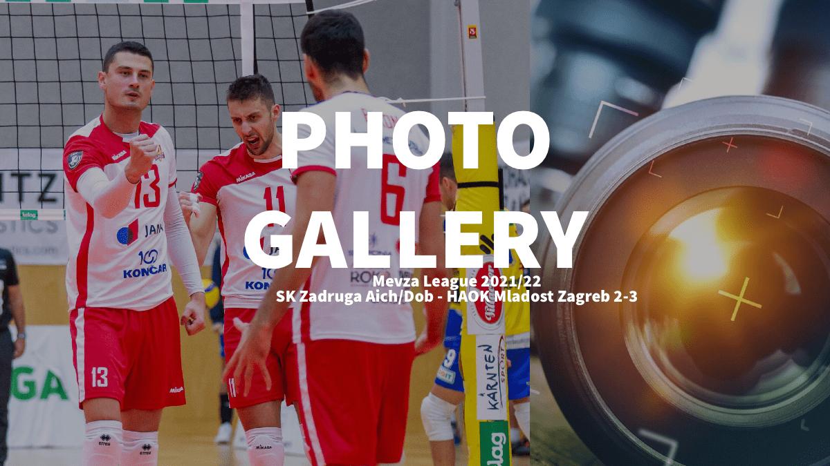 Mevza League: Photogallery of SK Zadruga AICH/DOB (AUT) – HAOK Mladost Zagreb