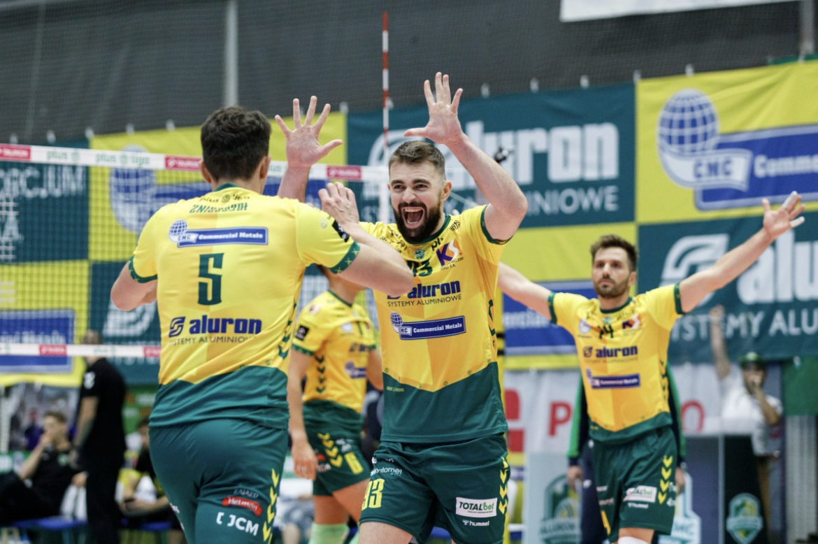 Poland: 3 points for ZAKSA and Zawiercie. What a match between PGE Skra Belchatow and Stal Nysa