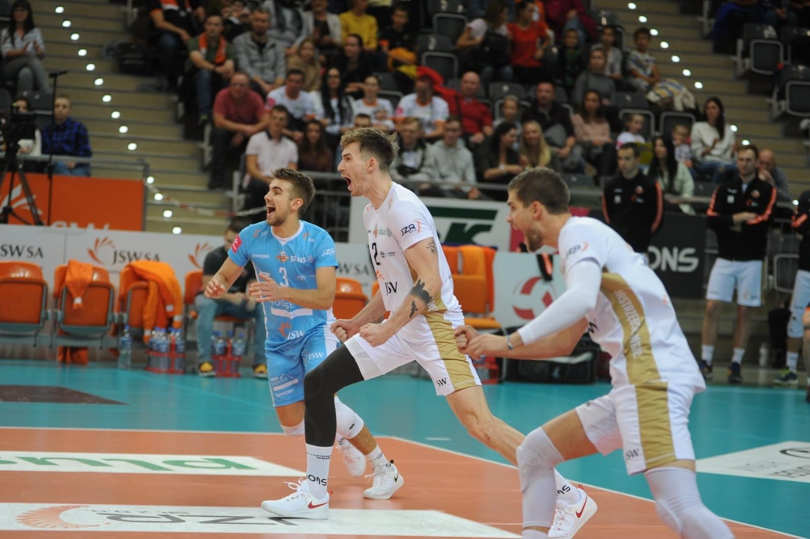 Poland: Olsztyn stun Aluron, Jastrzębski prevail over Skra in a PlusLiga classic