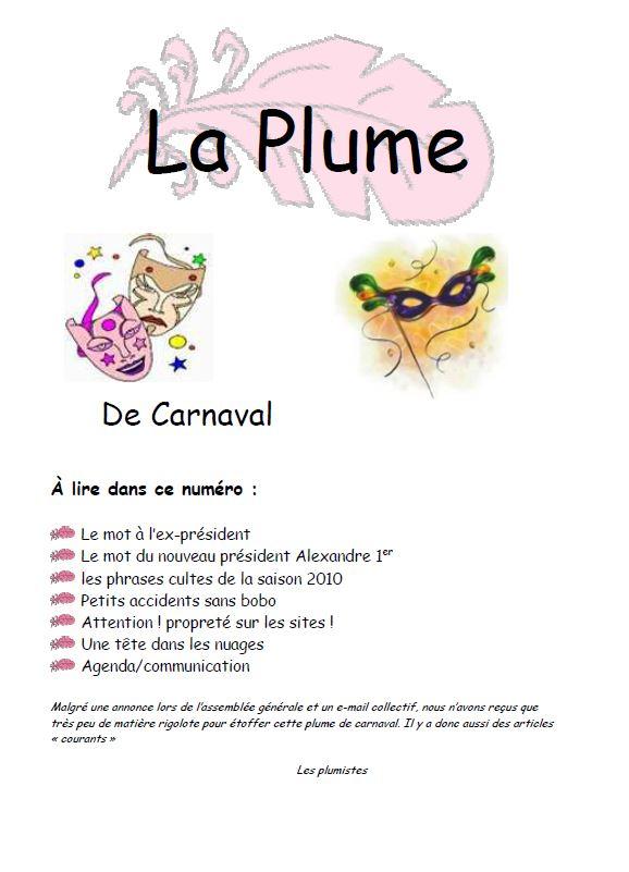 Plume 01 2011