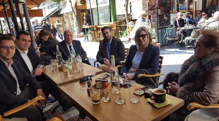 Ο Λεβέντης για καφέ στο Βολονάκι!!!