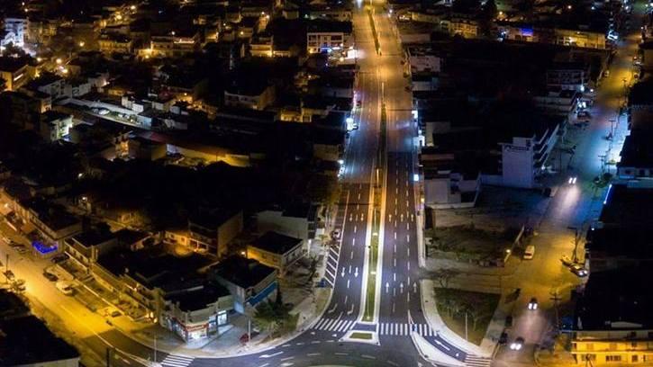 Λας Βέγκας, ο κόμβος της Λαρίσης! Οι φώτο που έγιναν viral!