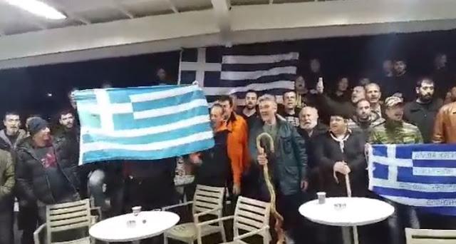 Γεμάτα τα καράβια από Κρήτη για Αθήνα: Η Μακεδονία είναι Ελλάδα!