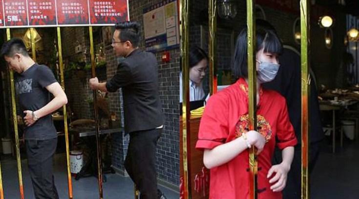 Εστιατόριο κάνει έκπτωση σε αδύνατους πελάτες που περνούν μέσα από μπάρες